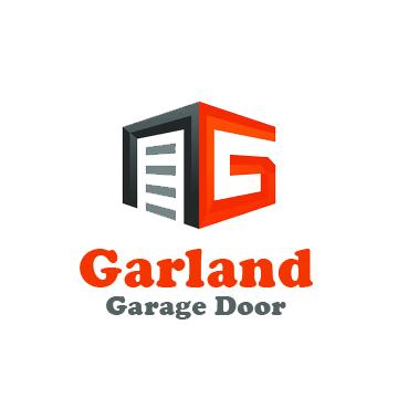 garland garage door logo