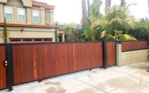 driveway gates maintenance - garland garage door 1
